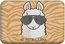 Duda Weich Rutschfest kein Prob- Lama Badteppich