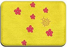 Duda Weichem rutschfestem Blumen Marienkäfer