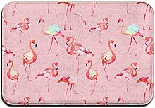 Duda Weichem rutschfestem Flamingo Badteppich