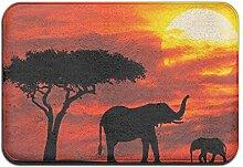 Duda Weichem rutschfestem Forest Afrikanischer