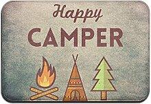 Duda Weichem rutschfestem Happy Camper