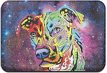 Duda Weichem rutschfestem Neon Pitbull Colorful