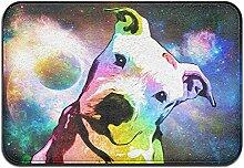 Duda Weichem rutschfestem Pit Bull Regenbogen