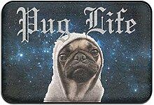 Duda Weichem rutschfestem Pug Life Hund Ugly