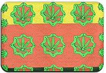 Duda Weichem rutschfestem Reggae Weed Blätter
