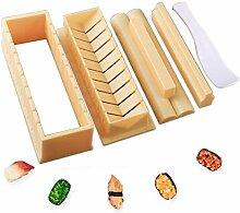 DUDDP Küche Backen Werkzeuge Die Sushi-Set 5Pcs,