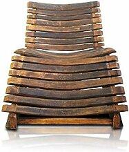 DUE Old Wood Furniture Wave Liegestuhl, Holz,