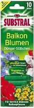 Dünger-Stäbchen für Balkonpflanzen - 10 Stück