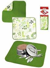 Duett Tapete Farbe grün