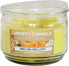 Duftkerze im Glasbehälter Set Melon Medley und