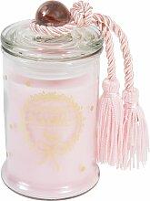 Duftkerze in Bonbonniere, rosa, H11