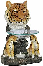 Duftlampe Aromalampe Tiger Wild Life Afrika Dekoration Raumduft Dekoration