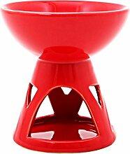 Duftlampe mit tiefer Brennschüssel - groß - Ro