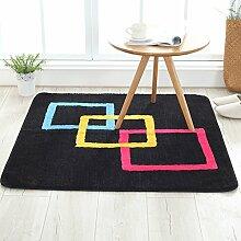 DUHUI Teppich für Wohnzimmer, Rutschfeste