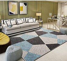 DUHUI Teppich rutschfeste einfache Multicolor