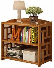 DULPLAY Bambus Bodenstehende Bücherregal,Vintage