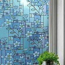 DULPLAY Privatsphäre Dekorative Fensterfolie,