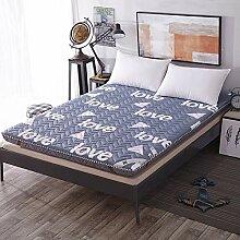 DULPLAY Verdicken Sie Folding Matratze Bett,