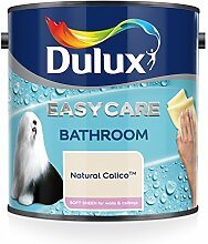 Dulux Badezimmer-Wandfarbe Plus, Glanzfarbe, 2,5l, apfelweiß, beige, 500001