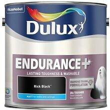 Dulux Endurance + MATT Rich Schwarz 2,5Liter