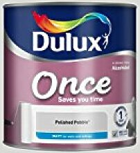 Dulux Once Matt Farbe für Wände, grau