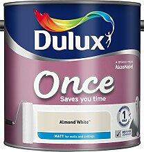 Dulux Once Matt Farbe für Wände, weiß