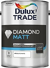 Dulux Trade Diamond Matt Light & Space Wandfarbe weiß 5 Liter
