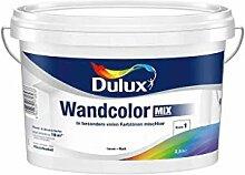 Dulux Wandcolor Mix Base1 Wandfarbe Weiß Matt 10