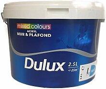 Dulux Wandfarbe 2,5 Liter Weiss Satin