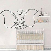Dumbo Elefant Wandtattoo Cartoon Tier Vinyl