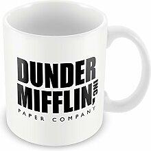 Dunder Mifflin TV Tasse Office Geschenkidee Vater