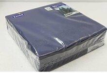 DUNI 22087 Servietten, 41x41cm, blau