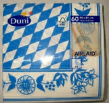 Duni Airlaid Servietten bayrische Raute