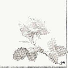 Duni Duni Zelltuch-Servietten Grey Rose 33x33 cm