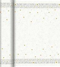 Duni Dunicel® Tête-à-Tête Playful Message 40 x 120 cm 20 Stück per Rolle, perforier