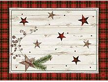 Duni Dunicel Tischset Naturally Christmas 30x40 cm