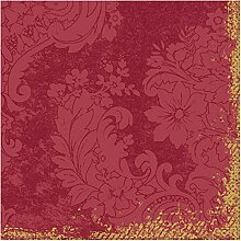 Duni Dunilin Serviette Royal Bordeaux 40 x 40 cm