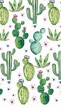 Duni Tischdecke Dunisilk®+ Floral Cactus 138 x
