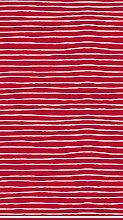 Duni Tischdecke Dunisilk®+ Red Stripe 138 x 220