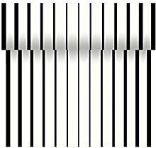 Dunicel Téte-a-Téte Black & White 0,40 x 24 m, Duni Tete Black & White, Duni Motiv Black & White, Tischdeko schwarz weiß