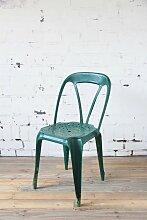 Dunkelgrüner Stuhl von Joseph Mathieu, 1920er