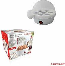 Dunlop Elektro Eierkocher Elektrokocher Dampfkocher Dampfgarer Küchengerät Küchenhelfer