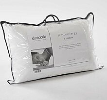 Dunlopillo Kissen mit Anti-Allergy-Fasern, Weiß