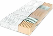 Dunlopillo Matratze - Multi Care   7-Zonen-Kaltschaummatratze   80x200 cm   Höhe: 16 cm
