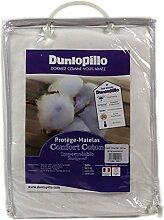 Dunlopillo PLGUEH140190DPO Matratzenschoner, 140 x 190 cm, Weiß