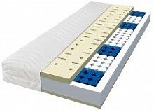 Dunlopillo Tonnen-Taschenfederkern Matratze Aerial TFK Classic 100x200 H2