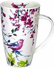 Dunoon Becher Henley Birdsong Vogel Rosa 600ml