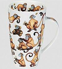 Dunoon Becher Henley Cheeky Monkeys