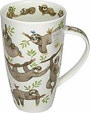 Dunoon Becher Henley Its a sloths Life Faultier