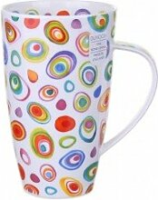 DUNOON Bone China Becher mit Razzmatazz Design in Henley Form